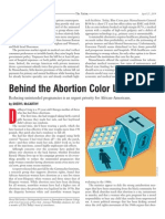 Behind the Abortion Color Line