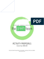 The Green Team Proposals