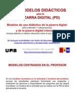 18 modelos de uso didáctico de la pizarra digital