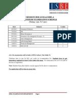 ~~2nd Trisem Timetable