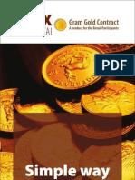 Gold Petal Booklet