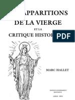 Les apparitions de la Vierge et la critique historique
