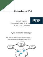 Multi Homing en IPV6