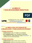Los recursos de la web 2.0 y su aprovechamiento didáctico
