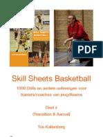 Skill Sheets Basketball Deel 4