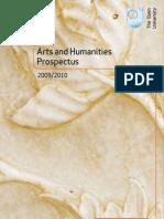 OU Arts+Humanities Prospectus