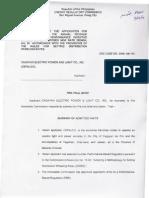 Erc Case No. 2006-041rc Cepalco Pretrial Brief (1)(2)