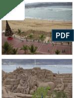 Navidad en Las Canteras (Gran Canaria)
