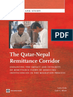 The Qatar-Nepal Remittance Corridor