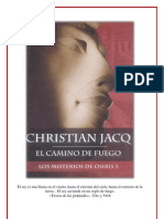 El Camino del Fuego - Los Misterios de Osiris 3 - Christian Jacq