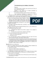 Criminal Procedure Annex A