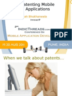 Patenting in Mobile Application and Technology