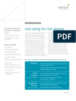 Disease Management - Real Caring for Real Change