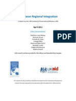 Regional Integration Report - 2011 April [UWI-IIR]