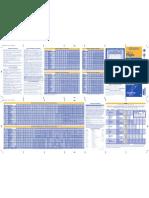 MD-W Schedule Effective 03232009