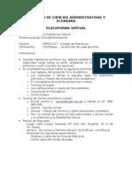 Instrucciones Ingreso a La ma Virtual Facultad Ccss Administrativas