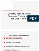 Business Environment for Global Firms