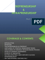 Entrepreneurship & Intrapreneurship - Prof.s.s.sharma