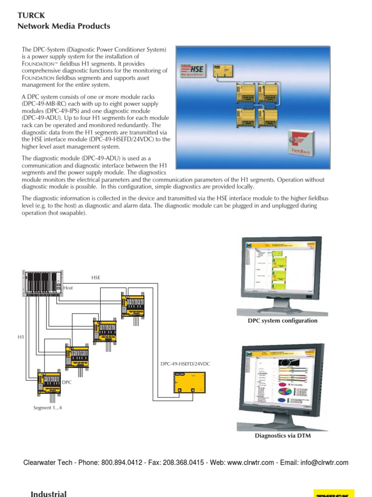 Turck Foundation Power Conditioners   Power Supply   Electrical