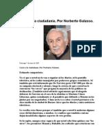 Carta a la ciudadanía - Galasso