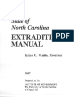 NC Extradition Manual