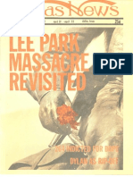 Dallas News Lee Park Issue