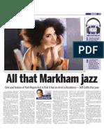 Aug. 19, 2011 - Markham Jazzfest