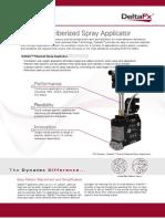 DeltaFx Adhesive Spray Applicator
