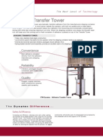 Bulk Adhesive Transfer Tower