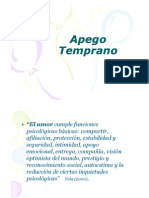 Apego Temprano Jornada 2