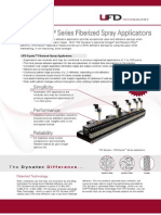 UFD Equity Fiberized Spray Adhesive Applicator