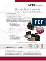 UFD High-Speed Fiberized Spray Adehsive Applicator