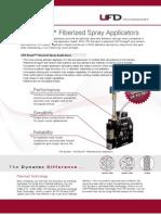 UFD Fiberized Spray Adhesive Applicators
