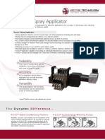 Vector Adhesive Spray Applicator