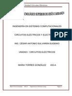 Unidad 1 Circuitos electricos