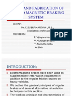 Electro Magnetic Breaking System