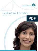 IfL Professional Formation Overview