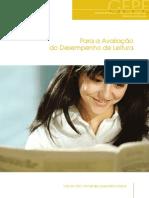 para a avaliação do desempenho da leitura