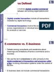 e Commerce Lecture