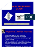 Physical Properties Glass