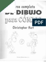curso libro de dibujo como dibujar caricaturas