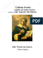 Catena Aurea de S Tomas de Aquino Evangelho S Mateus - Cap 1,1- Cap- 2,9