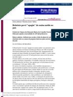 Folha de S.Paulo - Relatório prevê _apagão_ do ensino médio no país - 03_07_