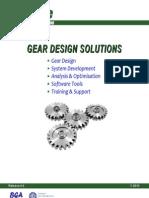 Gear Production Suite Brochure