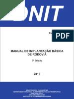 Manual Implantacao Basica Rodovia Publ Ipr 742