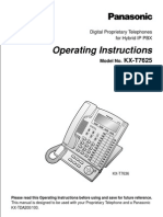 KX-T7633 Operating Instructions