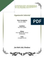 tarea Organización Industrial desechos solidos