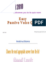 Easy Passive Voice Quiz