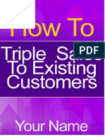 How to Triple Sales to Existing Customers