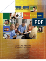 Scripture Union USA Annual Report Fiscal Year 2010-11